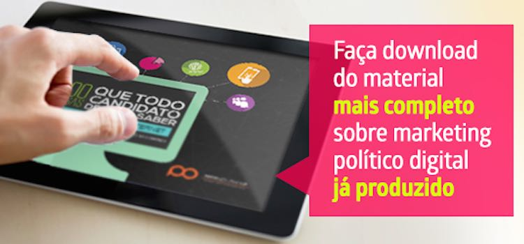 Ebook 100 coisas que todo candidato deveria saber sobre campanha política na internet