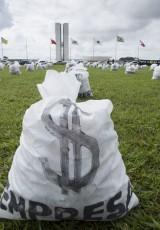 Campanha política sem dinheiro de doações