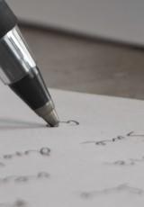 escrita cursiva