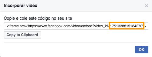 video no facebook