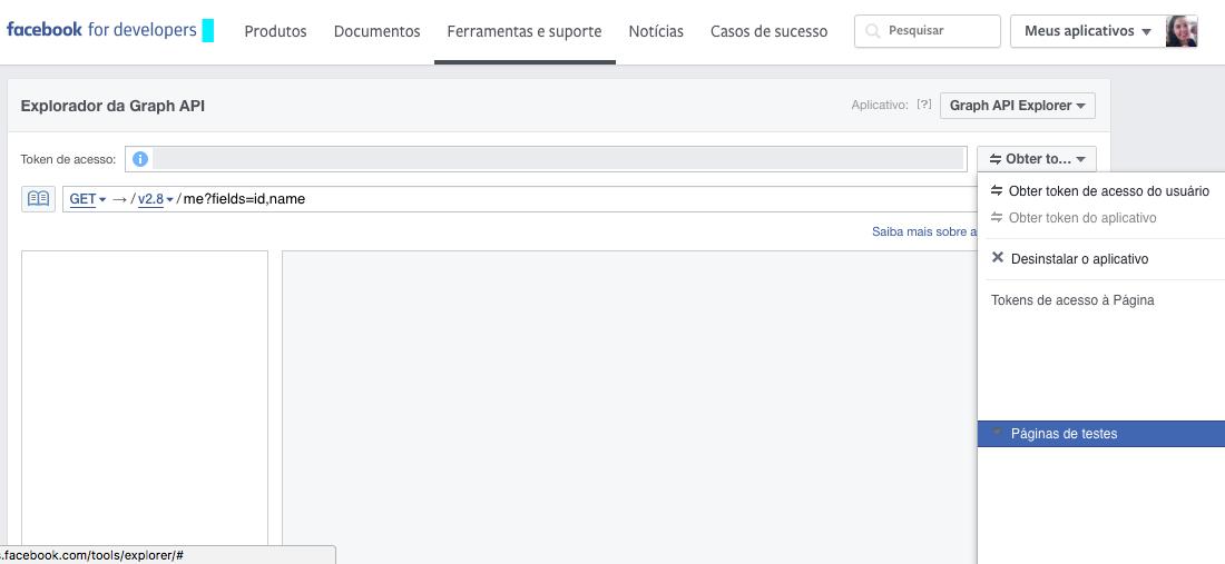 API facebook