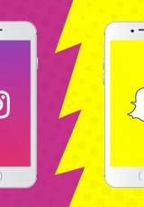 O stories do Instagram e o do Snapchat possuem o mesmo recurso: fotos e vídeos que somem em 24 horas.